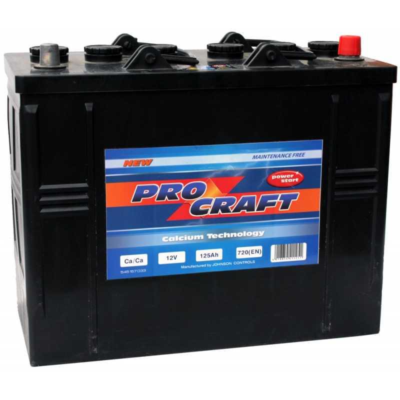 PROCRAFT 125AH 720A R+