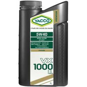 YACCO VX 1000 LL 5W-40 1L