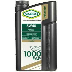 YACCO VX 1000 FAP 5W-40 2L