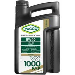 YACCO VX 1000 FAP 5W-40 5L