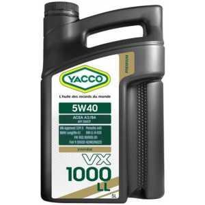 YACCO VX 1000 LL 5W-40 5L