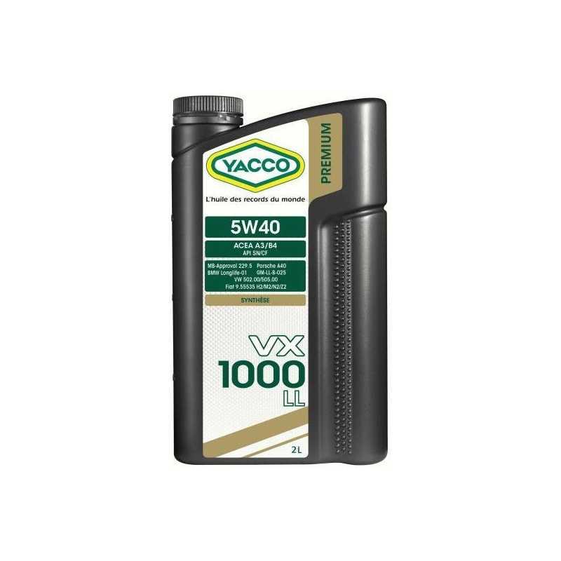 YACCO VX 1000 LL 5W-40 2L