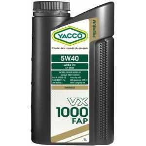 YACCO VX 1000 FAP 5W-40 1L