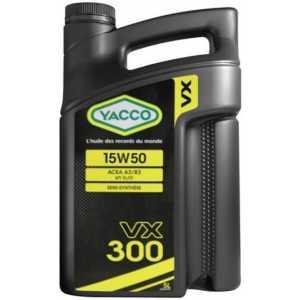YACCO VX 300 15W-50 5L