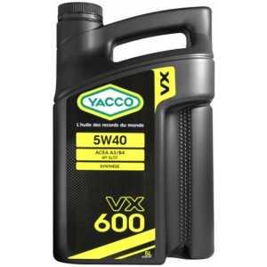 YACCO VX 600 5W-40 5L