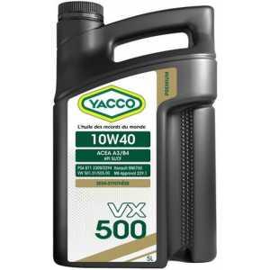 YACCO VX 500 10W-40 5L