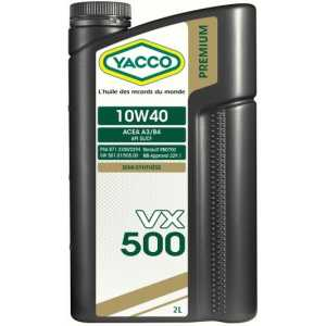 YACCO VX 500 10W-40 2L