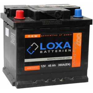 LOXA 45AH 360A L+