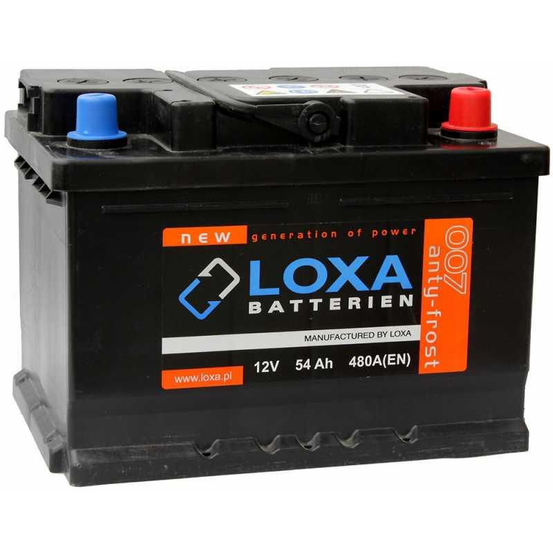 LOXA 54AH 480A R+