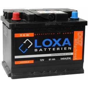 LOXA 61AH 540A L+