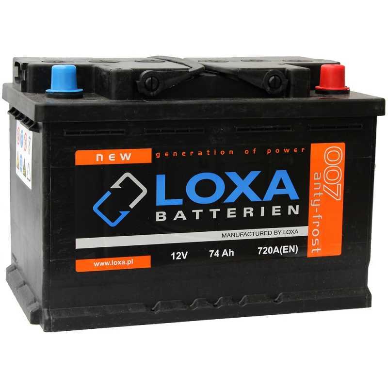 LOXA 74AH 720A R+