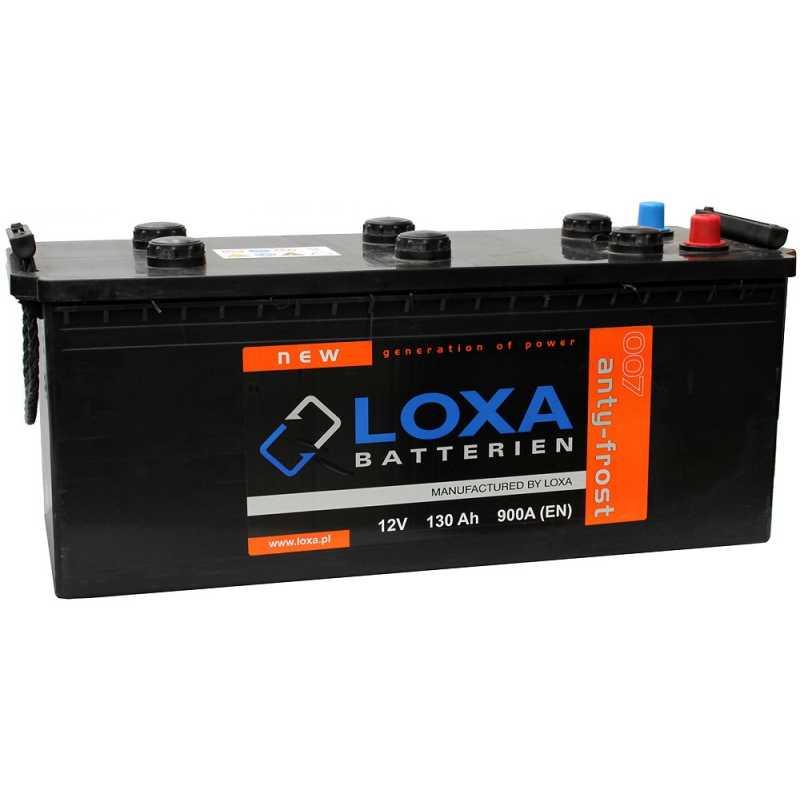 LOXA 130AH 900A L+
