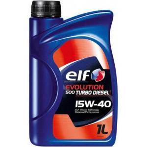 Моторно масло ELF EVOLUTION 500 DIESEL 15W-40 1L