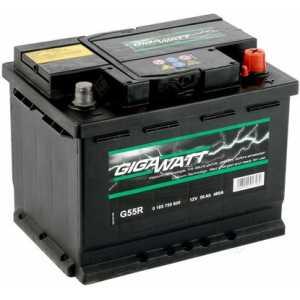 Акумулатори GIGAWATT 56AH 480A R+