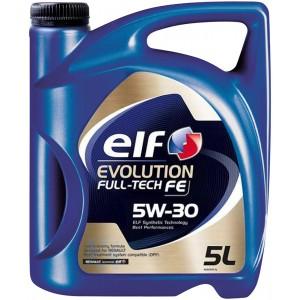 Моторно масло ELF EVOLUTION FULL-TECH FE 5W-30 5L