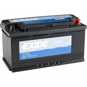 Акумулатор EXIDE CLASSIC 90AH 720A R+