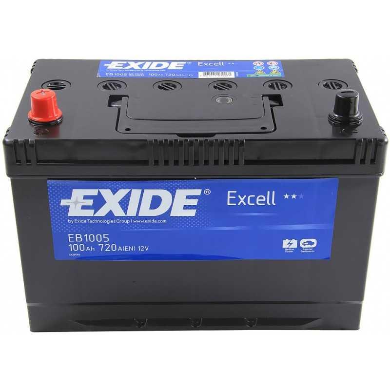 EXIDE EXCELL 100AH 720A L+
