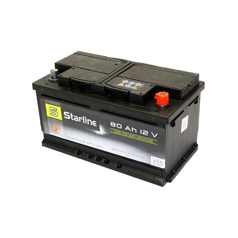STARLINE 80AH 740A R+