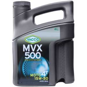 YACCO MVX 500 4T 15W-50 4L