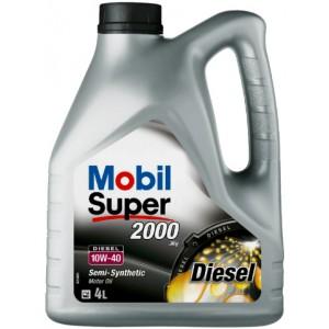 Моторно масло MOBIL SUPER 2000 X1 TD 10W-40 4L