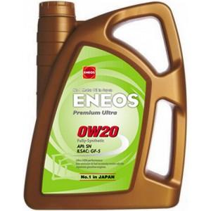 Моторно масло ENEOS PREMIUM ULTRA 0W-20 4L