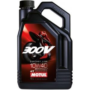 Мотоциклетно масло MOTUL 300V FACTORY LINE 4T 10W-40 4L
