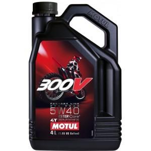 Четиритактово мотоциклетно масло MOTUL 300V FACTORY LINE OFF ROAD 5W-40 4L