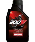 Офроуд мотоциклетно масло MOTUL 300V FACTORY LINE OFF ROAD 15W-60 1L