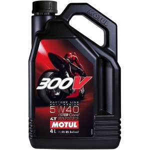 Моторно масло MOTUL 300V FACTORY LINE ROAD RACING 5W-40 4L