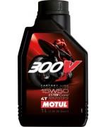 Мотоциклетно масло MOTUL 300V FACTORY LINE ROAD RACING 15W-50 1L