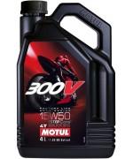 Моторно масло MOTUL 300V FACTORY LINE ROAD RACING 15W-50 4L
