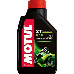 Двутактово мотоциклетно масло MOTUL 510 2T 1L