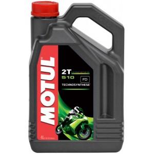 Двутактово мотопедно масло MOTUL 510 2T 4L