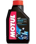 Масло за мотоциклетни двигатели MOTUL 3000 4T 10W-40 1L