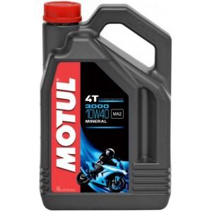 Двигателно масло за мотоциклети MOTUL 3000 4T 10W-40 4L