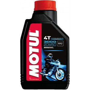 Масло за мотоциклетни двигатели MOTUL 3000 4T 20W-50 1L