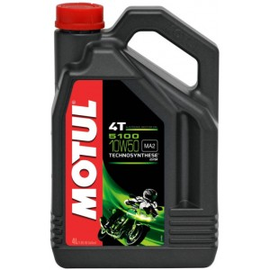 Двигателно масло за мотоциклети MOTUL 5100 4T 10W-50 4L