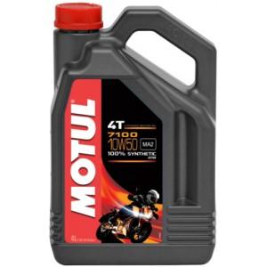 Мотоциклетно двигателно масло MOTUL 7100 4T 10W-50 4L
