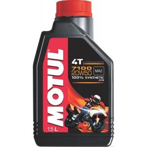 Синтетично мотоциклетно масло MOTUL 7100 4T 20W-50 1L