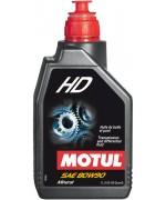 Трансмисионно масло за автомобили MOTUL HD 80W-90 1L