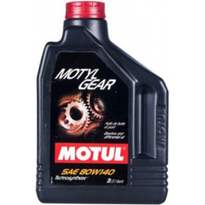 Трансмисионно масло MOTUL MOTYLGEAR 80W-140 два литра