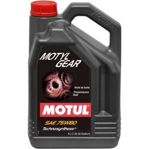 Трансмисионно масло MOTUL MOTYLGEAR 75W-80 5L