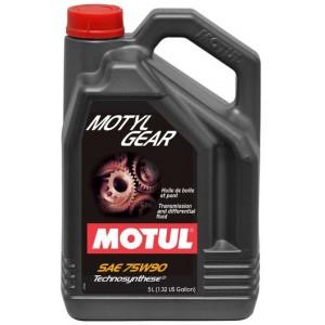 Трансмисионно масло MOTUL MOTYLGEAR 75W-90 5L