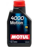 Моторно масло MOTUL 4000 MOTION 15W-50 1L