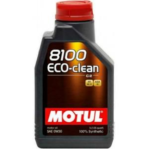 Моторно масло MOTUL 8100 ECO-CLEAN 0W-30 един литър