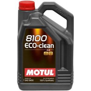Моторно масло MOTUL 8100 ECO-CLEAN 0W-30 пет литра