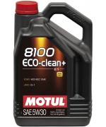 MOTUL 8100 ECO-CLEAN+ 5W-30 5L