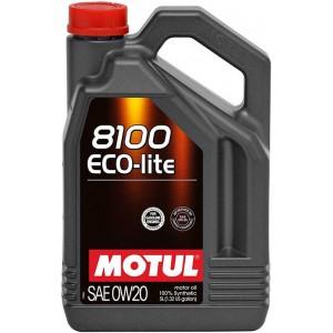 Моторно масло MOTUL 8100 ECO-LITE 0W-20 пет литра