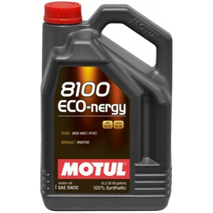 Моторно масло MOTUL 8100 ECO-NERGY 5W-30 пет литра