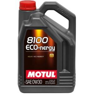 Моторно масло MOTUL 8100 ECO-NERGY 0W-30 пет литра